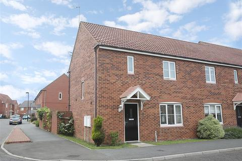3 bedroom end of terrace house for sale - Cloverfield, West Allotment