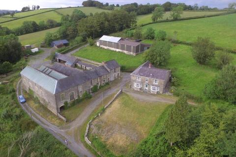 4 bedroom property with land for sale - Prengwyn, Llandysul