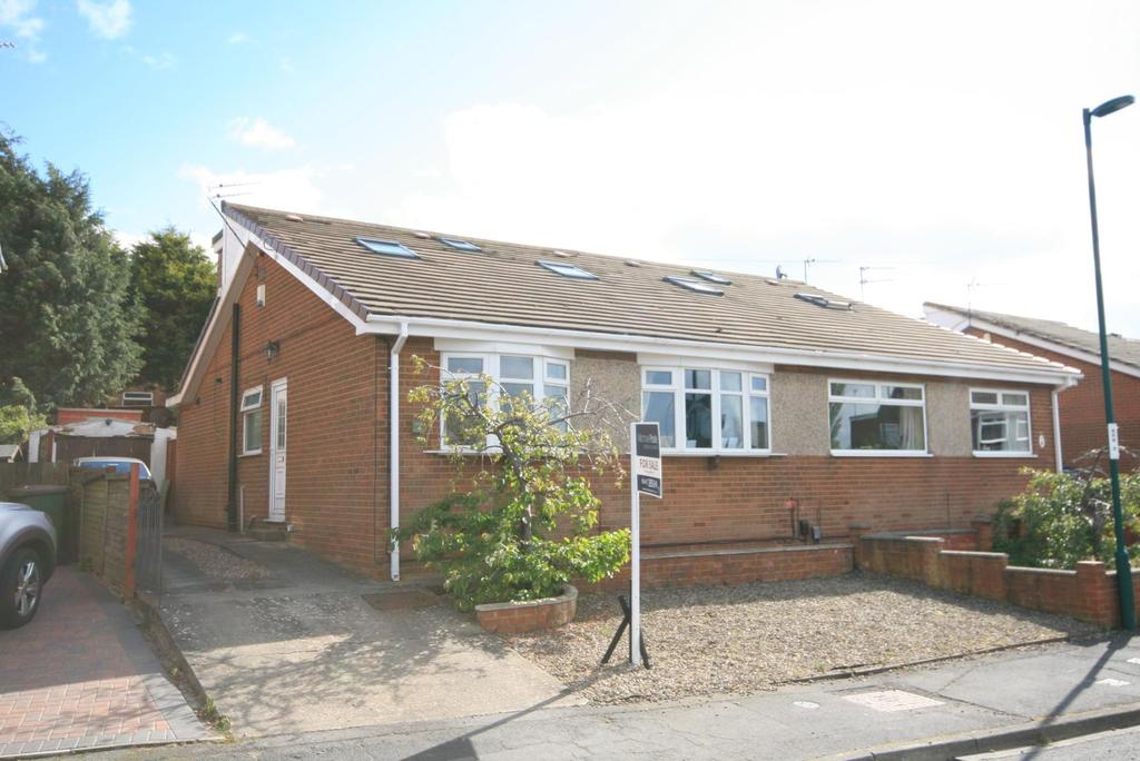 3 Bedrooms Semi Detached Bungalow for sale in Greta Road, Skelton