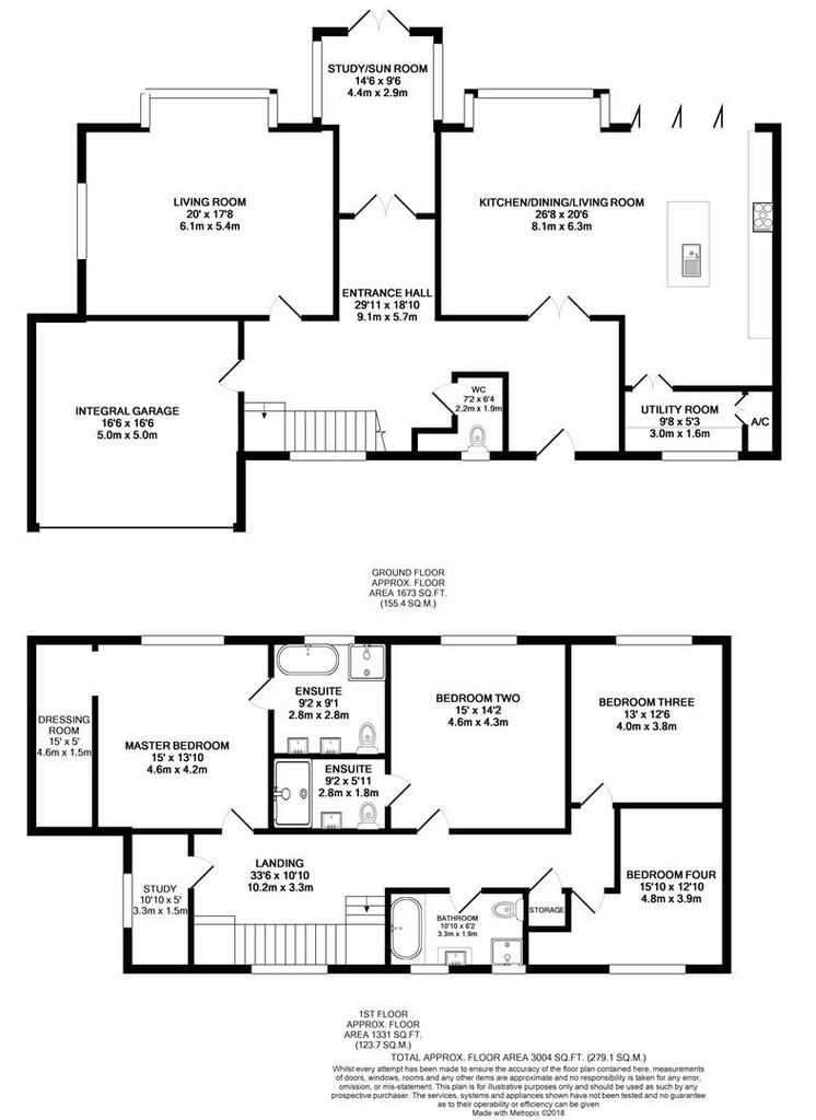 Floorplan: 1a Canford Cliffs Avenue print.JPG