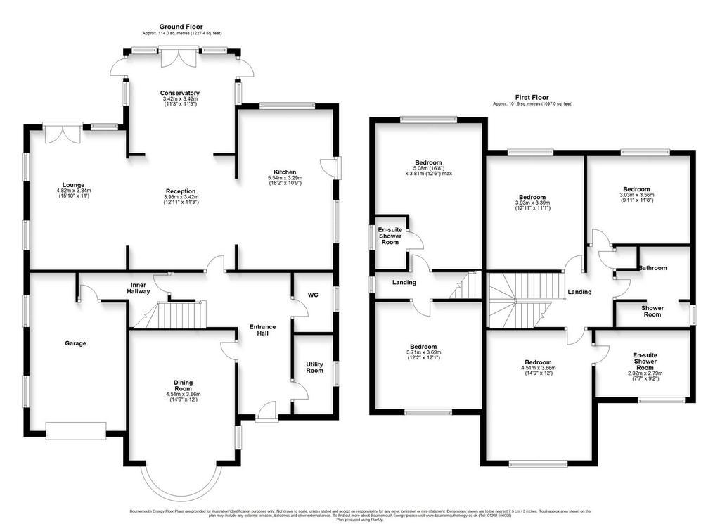 Floorplan: 9 Compton Drive, POOLE, Dorset, BH14 8 PW.JPG