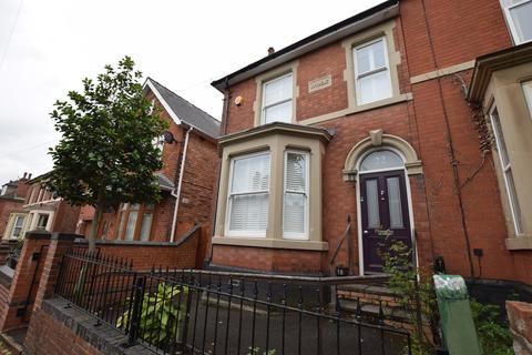 3 bedroom semi-detached house to rent - Overdale Road, Derby DE23 6AT