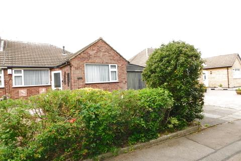 2 bedroom bungalow for sale - Saxon Dale, Glen Parva, Leicester, LE2