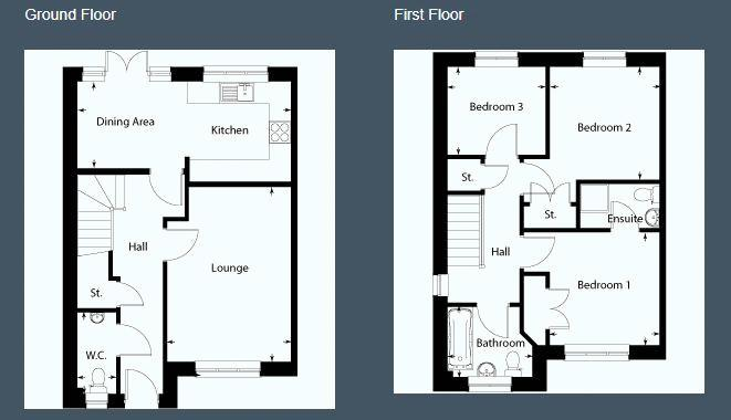 Floorplan: 9 Quarry Crescent