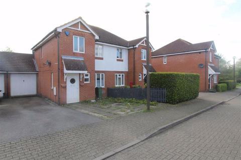 3 bedroom semi-detached house to rent - Brill Place, Bradwell Common, Milton Keynes, MK13
