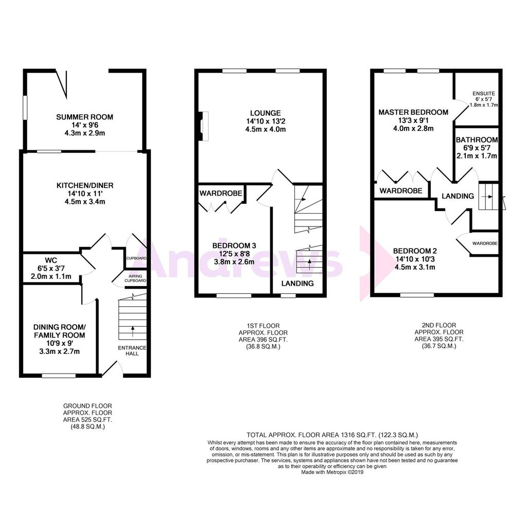 Floorplan: Greenacre Way