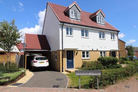 3 bedroom semi-detached house for sale - Hadleigh Street, Ashford, TN25