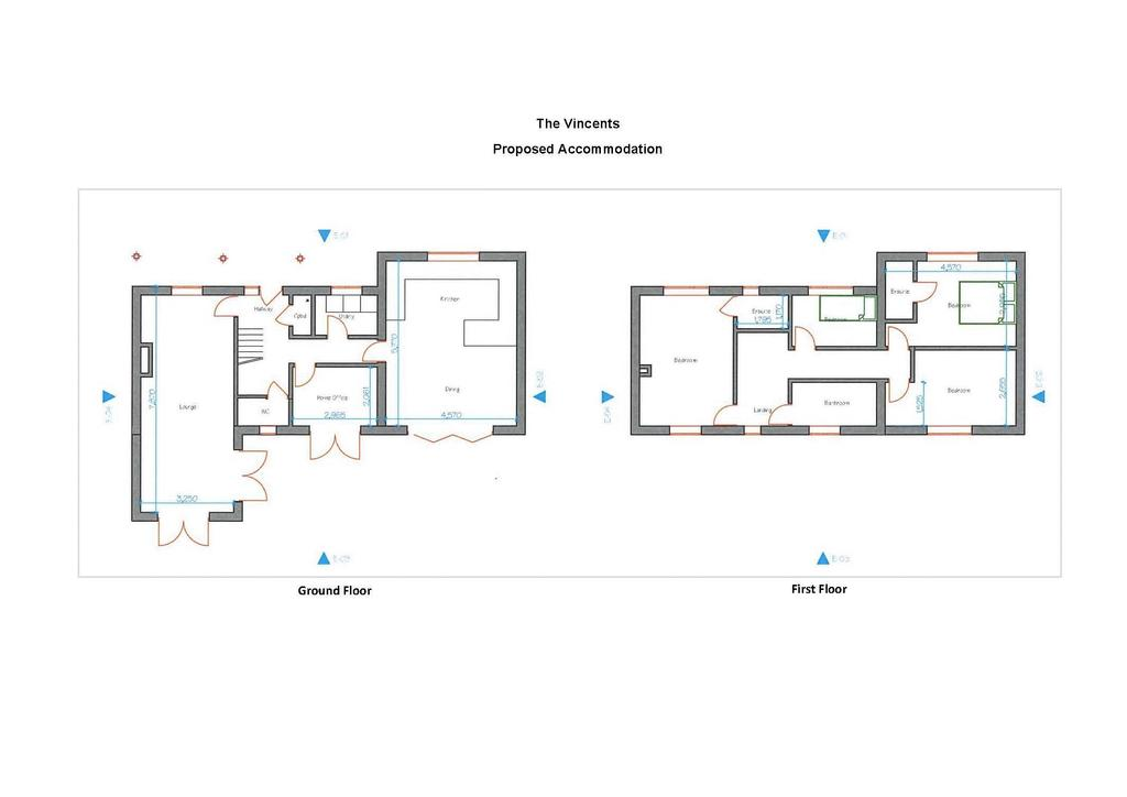 Floorplan 1 of 2: Current House