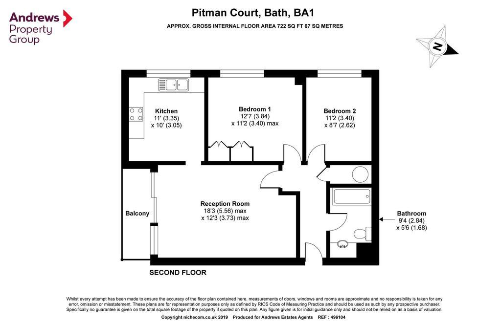 Floorplan: 10 Pitman 2019