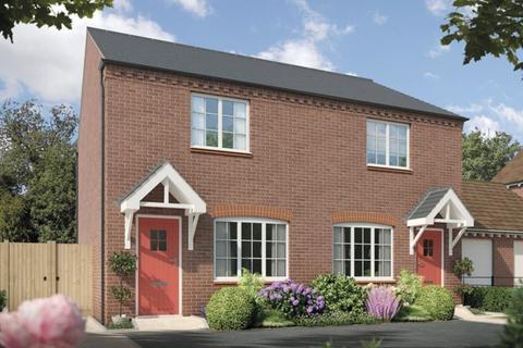 2 bedroom semi-detached house for sale - Fulford Hall Road, Tidbury Green