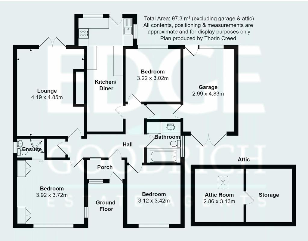 Floorplan: The Bungalow