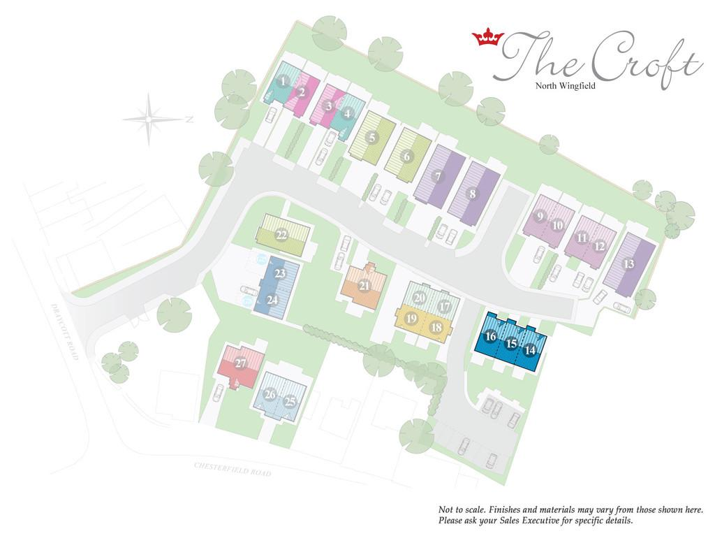 Plots 15 and 16   site plan