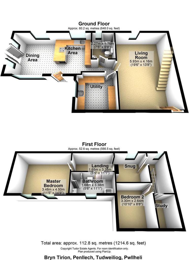 Floorplan 1 of 2: Bryn Tirion, Penllech, Tudweiliog, Pwllheli.jpg