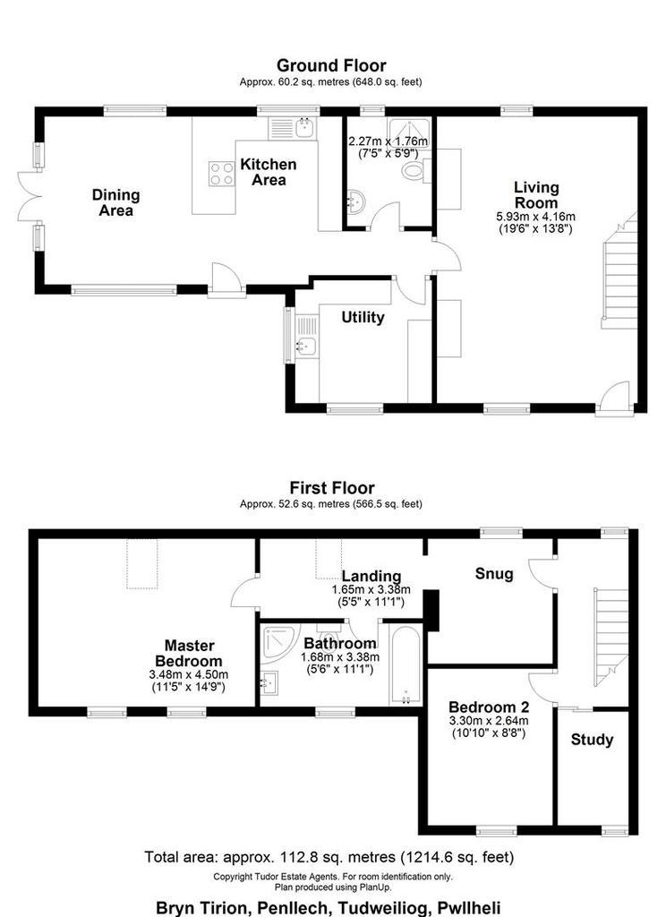 Floorplan 2 of 2: Bryn Tirion, Penllech, Tudweiliog, Pwllheli X.jpg