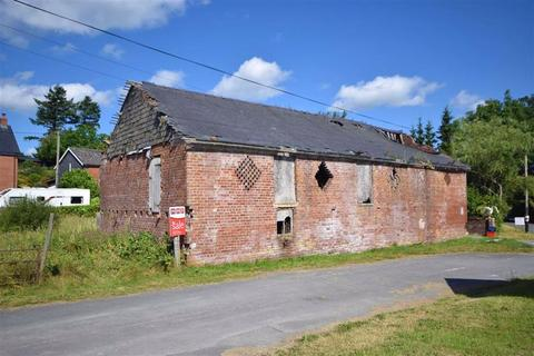 4 bedroom barn conversion for sale - Stores Farm Barn And Potential Building Plot, Pant-y-Dwr, Rhayader, Powys, LD6