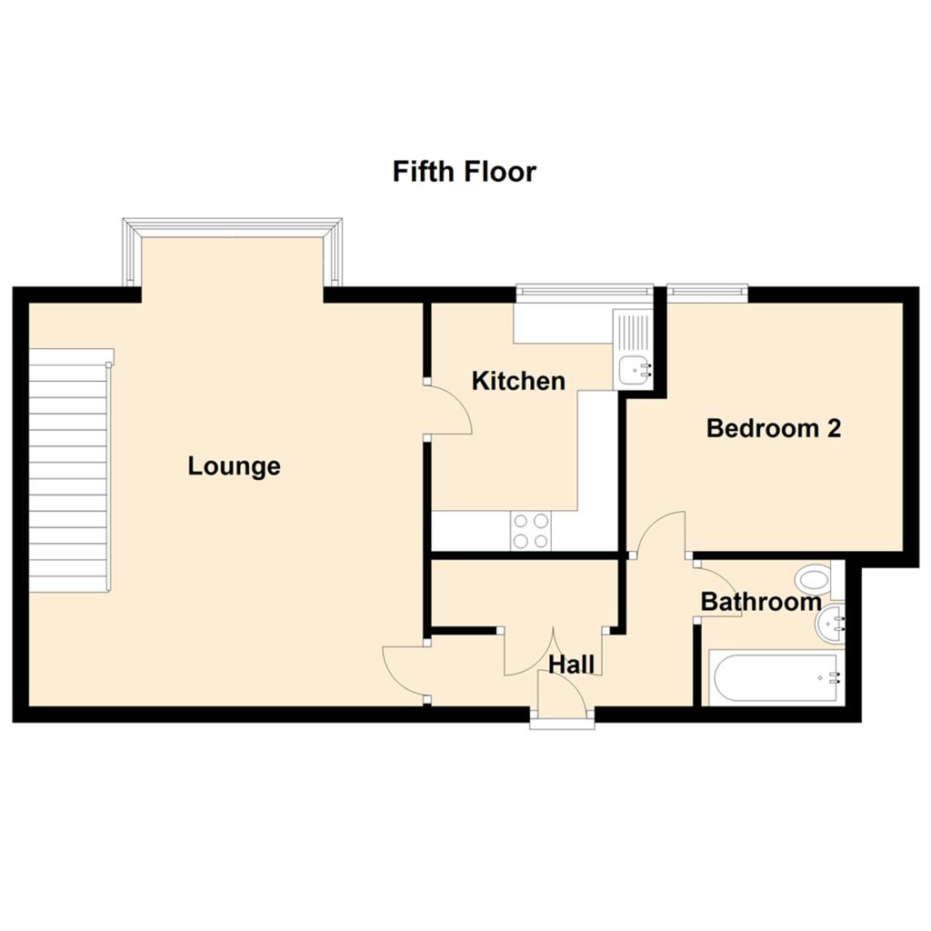 Floorplan 1 of 2: Fifth Floor