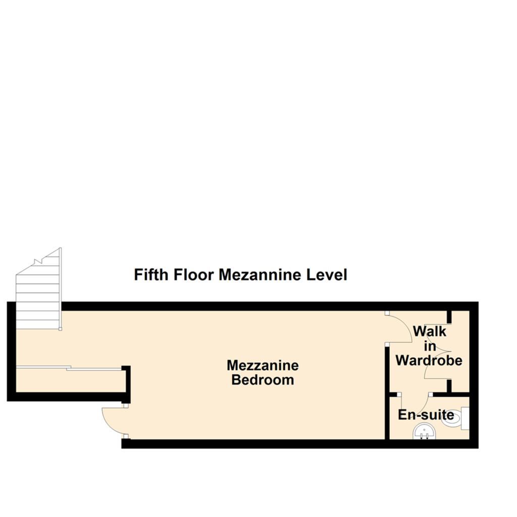 Floorplan 2 of 2: Fifth Floor Mezannine Level