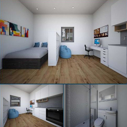 Studio to rent - Belgrave Club, 2 Belgrave Road, Plymouth
