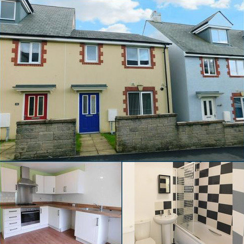 3 bedroom semi-detached house to rent - Trevarthian Road, St. Austell