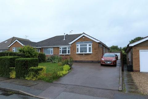 3 bedroom semi-detached bungalow for sale - Kilby Drive, Wigston