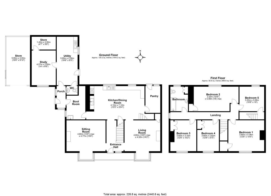 Floorplan 1 of 4: Perry Farmhouse