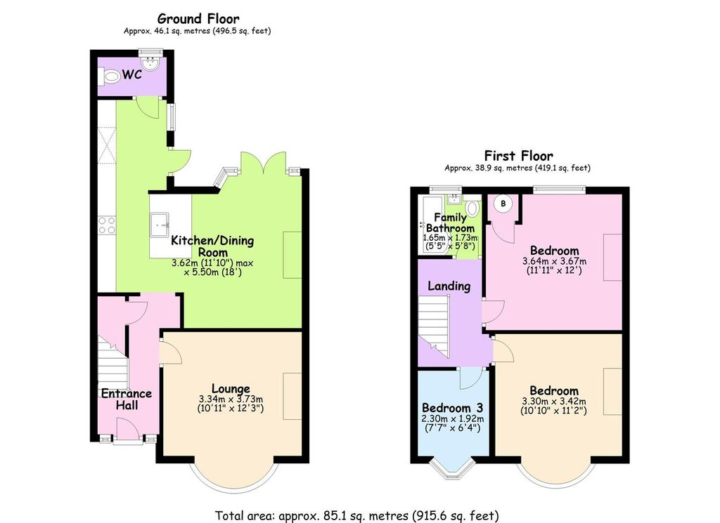 Floorplan: 104 Grayswood Avenue, Coventry.JPG