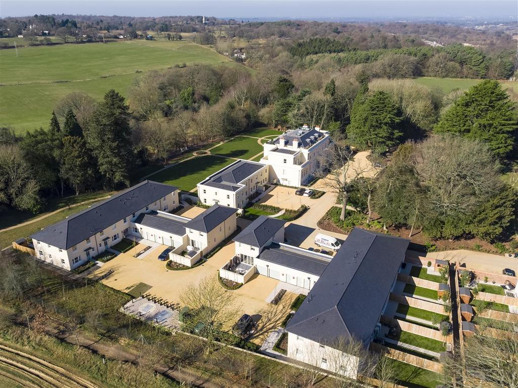 Frith Park Sturts Lane Walton on the Hill DRONE 19