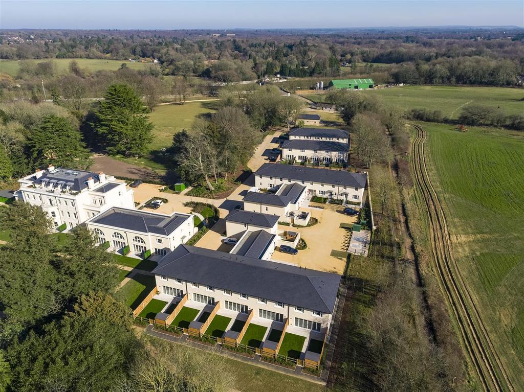 Frith Park Sturts Lane Walton on the Hill DRONE 26