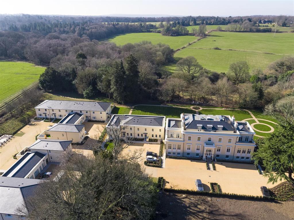 Frith Park Sturts Lane Walton on the Hill DRONE 17