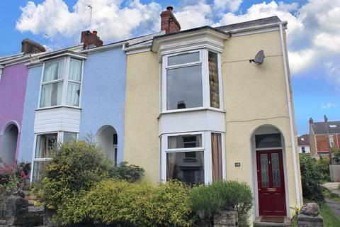 3 bedroom end of terrace house for sale - Woodville Road, Mumbles, Swansea, City & County Of Swansea. SA3 4AE