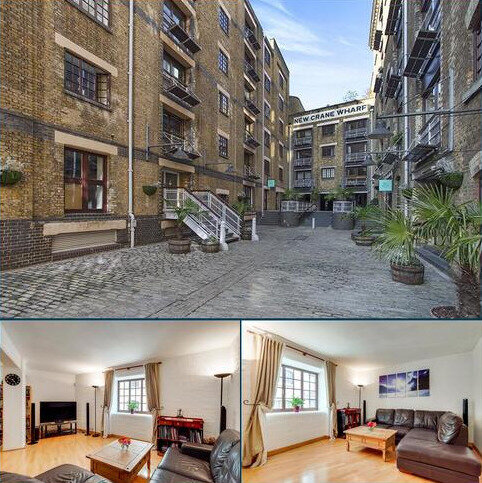 2 bedroom flat for sale - New Crane Wharf, 4 New Crane Place, Wapping, London, E1W