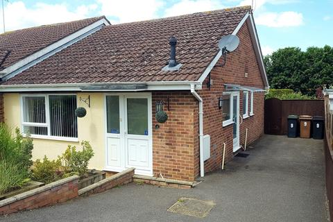 2 bedroom semi-detached bungalow for sale - Tippett Avenue, Stowmarket IP14