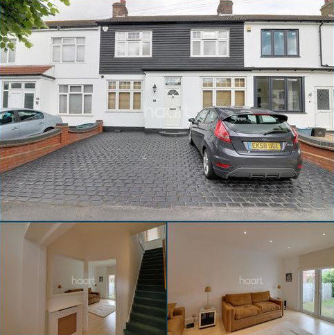 3 bedroom terraced house for sale - Grasmere Gardens, Redbridge