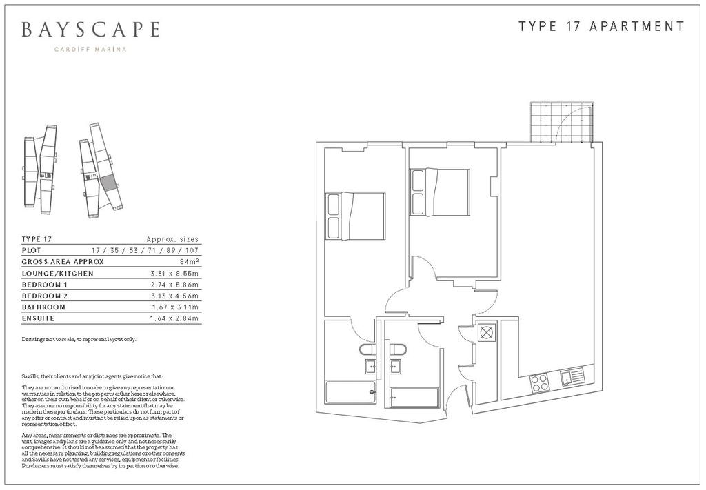 Floorplan: Type 17