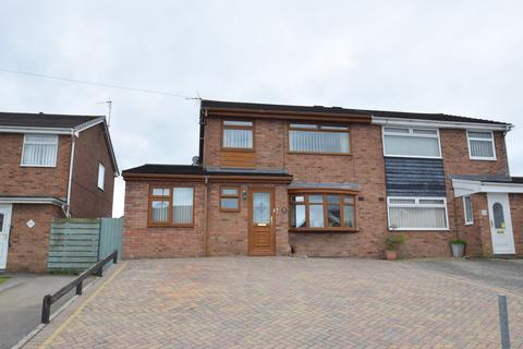 3 bedroom semi-detached house for sale - 25 Heol Y Blodau, Llangewydd Court, Bridgend, Bridgend County Borough, CF31 4UF