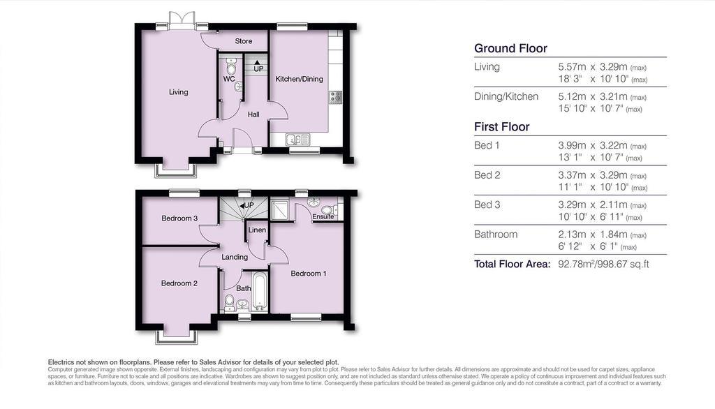 Floorplan: Ashley Floor Plans