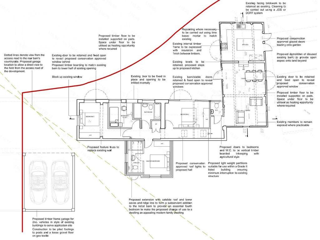Floorplan: Proposed Floor Plan