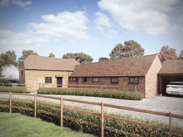 CGI of Proposed Barn Conversion