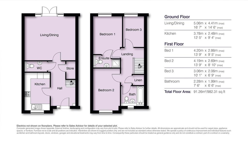 Floorplan: Seymour Floor Plans