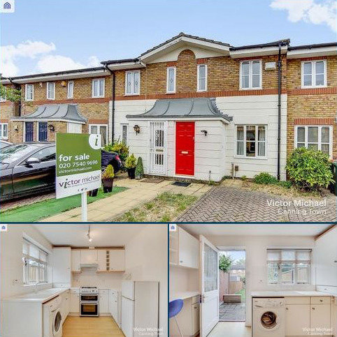2 bedroom terraced house for sale - Golden Plover Close, London, Greater London. E16