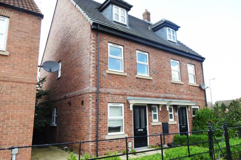 3 bedroom semi-detached house to rent - Runnymede Lane, Kingswood, HU7