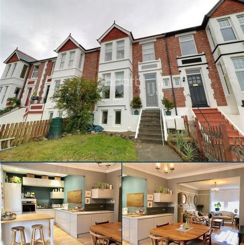 4 bedroom terraced house for sale - Lipson, Plymouth.
