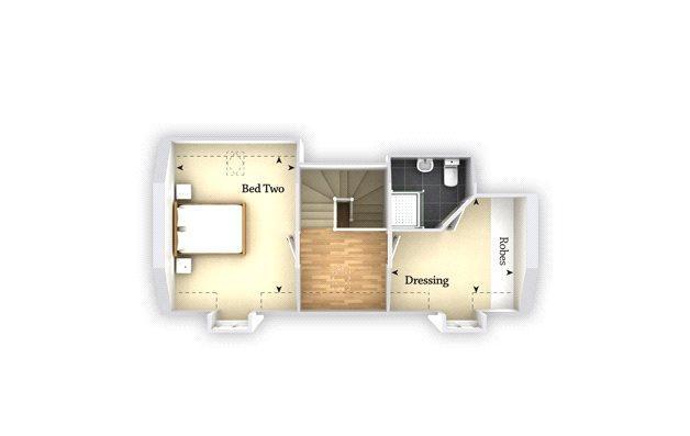 Floorplan 3 of 3: Second/Top Floor