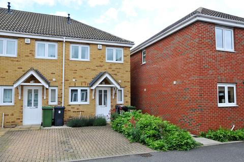 2 bedroom end of terrace house for sale - Woodcote Close, Peterborough