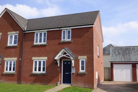 3 bedroom semi-detached house for sale - Cannington Road, Witheridge, Tiverton, Devon, EX16