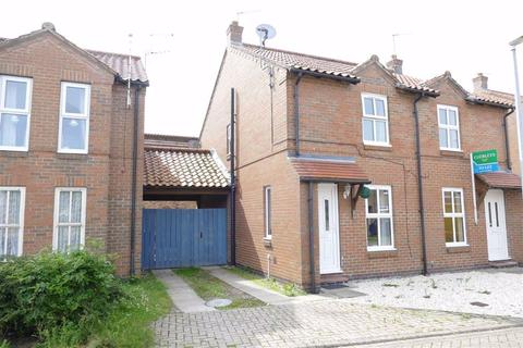 2 bedroom semi-detached house to rent - Southfield Park, Market Weighton