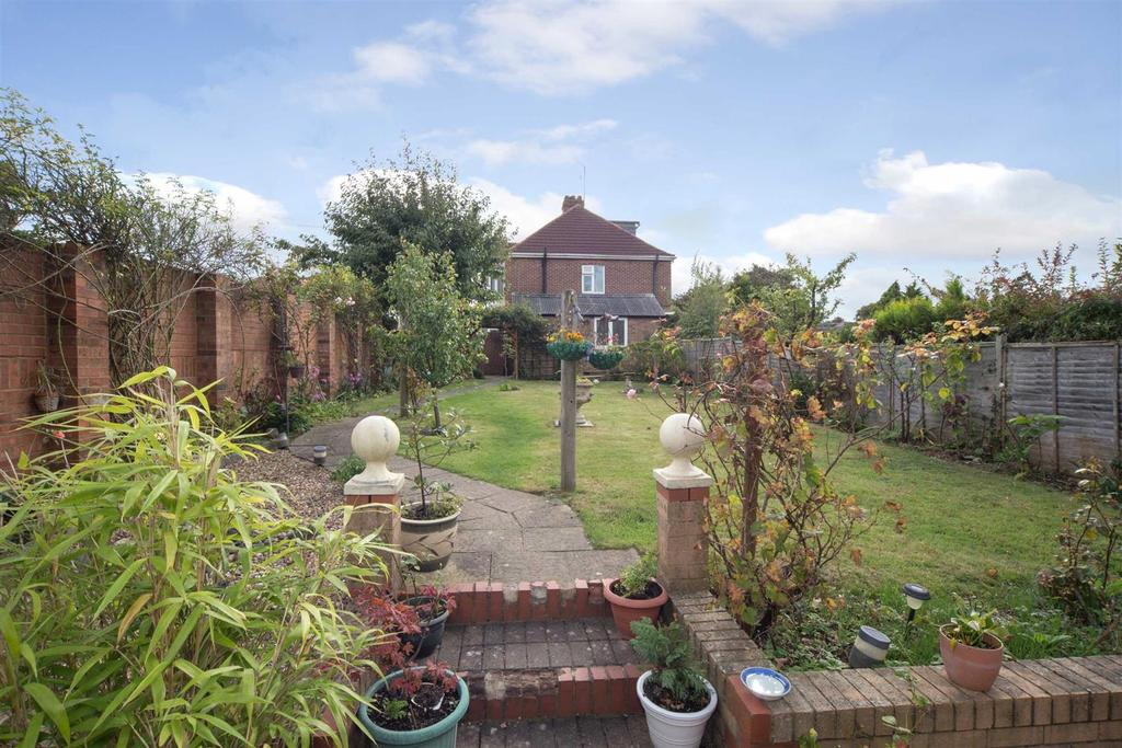 View From Rear Of Garden