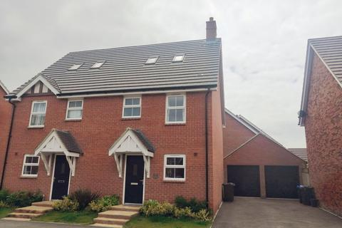 3 bedroom semi-detached house for sale - Glebe Road, Buckton Fields, Northampton