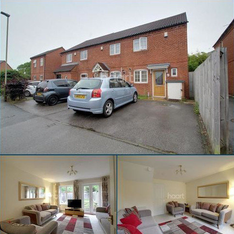 2 bedroom end of terrace house for sale - Oxon Way, Leicester