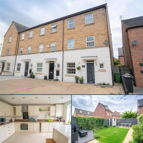 4 bedroom townhouse for sale - Attenborough Close, Wigston, Leicester